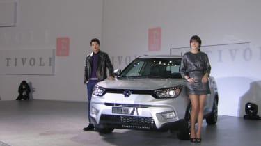 Ssangyong Tivoli紧凑型交叉SUV到达