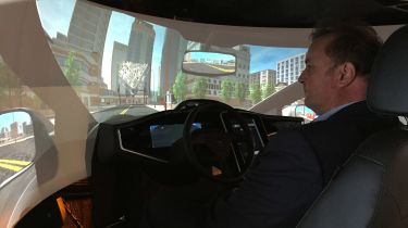 CES 2015:北翁开发自动驾驶模拟器