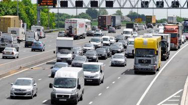 2013年每天在主要高速公路上的车道关闭