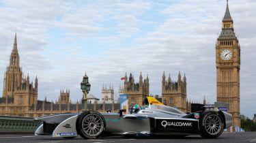 公式E:伦敦电动大奖赛宣布