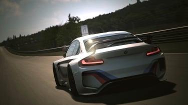 宝马揭示了虚拟2系列赛车