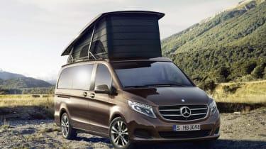 Mercedes-Benz Marco Polo Camper Van透露