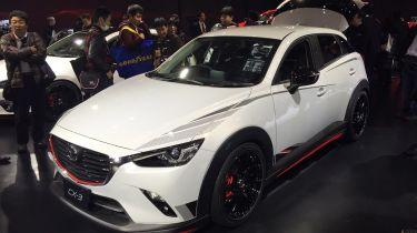 马自达CX-3赛车概念在东京透露