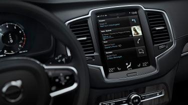 沃尔沃适合新的Android汽车in-car技术