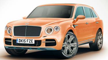 新的£40米HQ for Bentley SUV