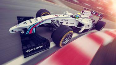 司机可以在他们的汽车上使用F1式广告赚取200英镑