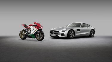 Mercedes-AMG在MV Agusta Bike Maker中购买股份