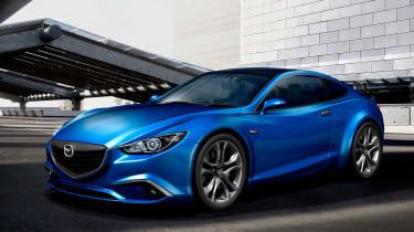 Mazda 6与潜在的轿跑子版本一起去运动型