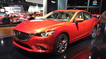 Mazda 6在2014年La Motor展会上获得了一整容