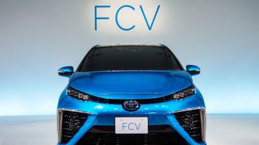 丰田的氢燃料电池车被称为mirai
