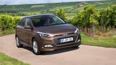 新的Hyundai I20从10,695英镑的费用