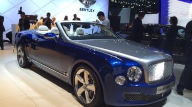Bentley Grand敞篷车概念为生产设置