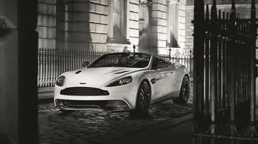 Aston Martin vanquish碳版透露