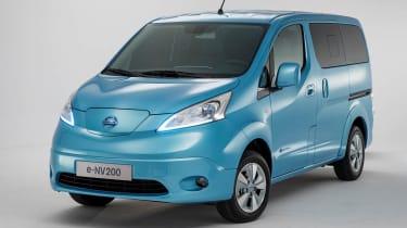 日产E-NV200:第一台电动车费用从13,393英镑