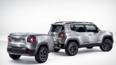 Jeep Renegade Hard Steel:截然的概念车本身