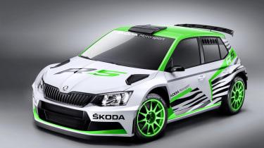 2015年斯柯达Fabia R5 Rally汽车推出了