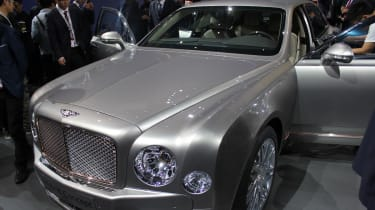 Bentley混合概念在北京透露