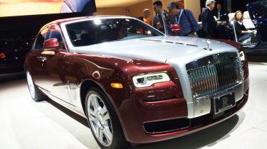 Rolls-Royce Ghost系列II推出在纽约电机展上