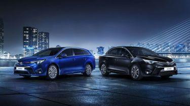 2015年的整容试图提升丰田Avensis的上诉