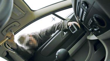 无钥匙汽车犯罪是帮派目标货车