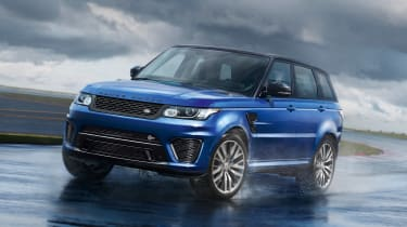 Range Rover Sport SVR:视频,图片和细节