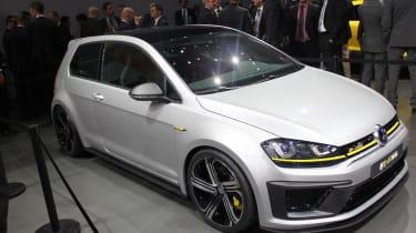 Volkswagen高尔夫R 400概念在北京推出