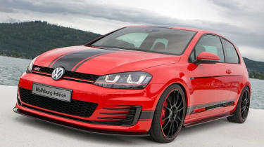 VW Golf GTI Wolfsburg Edition揭幕
