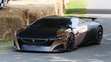 Peugeot和雪铁龙眼睛运动型汽车充满了未来