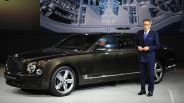 530BPP Bentley Mulsanne Speeds在巴黎电机展上首次亮相