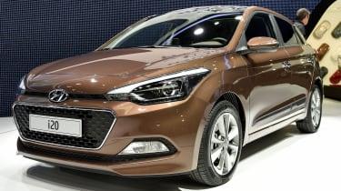 现代I20获得巴黎汽车展首次亮相