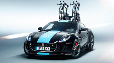 Jaguar F型R旅游法国概念透露