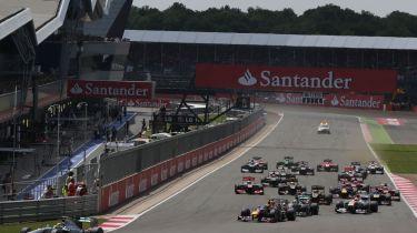 赢得2014年式1桑坦德英国大奖赛的门票