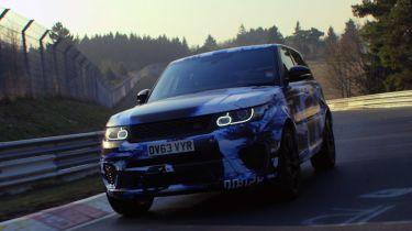 Range Rover Sport SVR套装Nurburgring SUV LAP录制