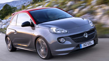 运动型Vauxhall亚当被称为亚当大满贯