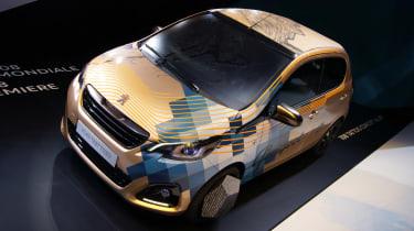 新的Peugeot 108价格,规格和发布日期显示