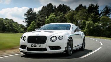 Bentley Continental GT3-R用572BHP爆炸