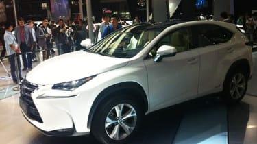 Lexus NX 4X4在北京电机展上官方透露