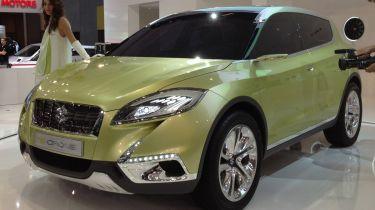 Suzuki SX4 S-Cross获取范围变化