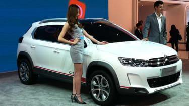 雪铁龙C-XR概念在北京揭幕