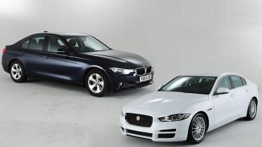 Jaguar XE VS BMW 3系列:2015年的至关重要的Compact Exec Clash