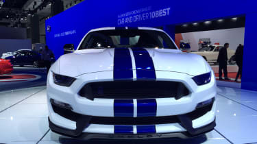 Shelby Ford Mustang GT350透露超过500bhp