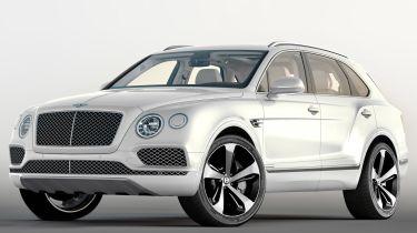 Bentley Bentayga第一版获得独家套件