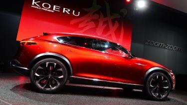 马自达老板基于Koeru Frankfurt Star的新SUV