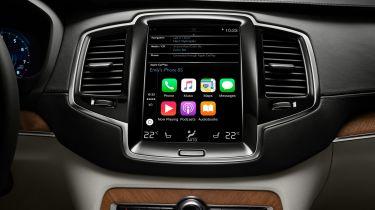 沃尔沃在软件中为XC90添加了Apple Carplay