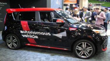Kia揭示了自主技术的驱动智慧品牌