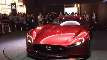 Mazda Rx-Vision东京概念预览新的RX-7 Coupe