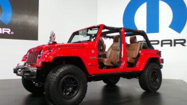 Jeep Wrangler Red Rock Edition可能只是终极吉普车