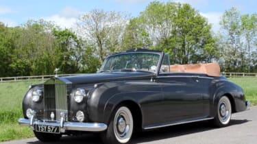 Felix Dennis'Rolls-Royce Silver Cloud可转换为400万英镑