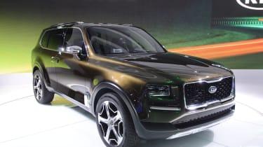 起亚碲化物SUV概念在底特律2016年推出