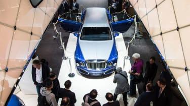Mulliner的新Bentley Mulsanne Grand Limousine绝对是巨大的